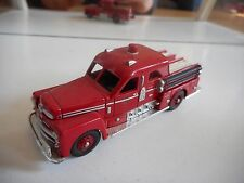 Corgi Seagrave Pumper Fire Engine in Red
