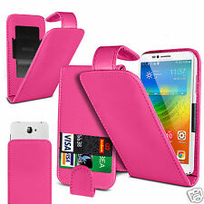 For Landvo V7 - PU Leather Flip Case Cover With Clip Function