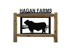 Bulls - Cows - Farm Sign - Farming Outdoor Signs