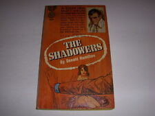 THE SHADOWERS by Donald Hamilton, Gold Medal Book #K1386, 1st Print, 1964, PB!