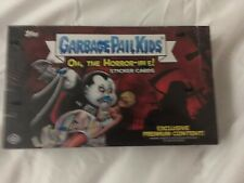 2018 GARBAGE PAIL KIDS OH THE HORROR-IBLE COLLECTOR EDITION BOX 1 Hit Guaranteed