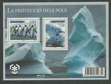 Preserve the Polar Regions and Glaciers Andorra Mini Sheet, MUH