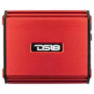 DS18 S1100.2 Red 1100 Watt 2 Channel Full Range Car Stereo Amplifier AB Amp NEW