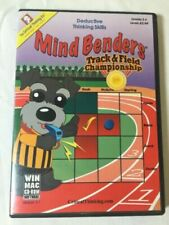 Mind Benders Track and Field Championship Thinking Skills Games CD Grades 3-6