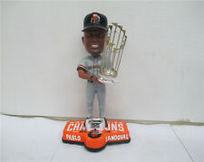 Pablo Sandoval Bobblehead Giants 2014 World Series Ring Trophy Grey Jersey NEW