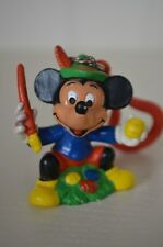 0048 Mickey Mouse PVC Figure key chain ring - Disney Bully 1986