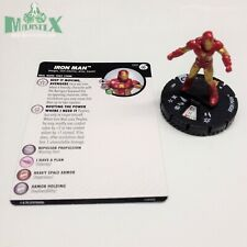 Heroclix Avengers Infinity set Iron Man #001 Fast Forces figure w/card!