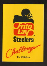 Pittsburgh Steelers--1986 Pocket Schedule--Frito Lay