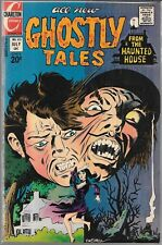 GHOSTLY TALES FROM THE HAUNTED HOUSE #105 (FN/VF) BRONZE AGE HORROR
