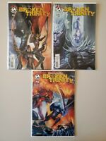 Broken Trinity 1 2 3 Top Cow All A Variant Covers Witchblade VF/NM