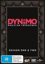 Dynamo - Magician Impossible : Series 1-2 (DVD, 2013, 4-Disc Set)