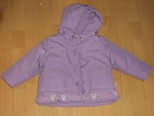 Mädchen-Jacken mit Kapuze aus Mischgewebe