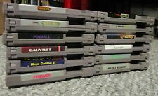 Nintendo NES LOT of 12 TESTED Castlevania 1 & 2 Teenage Mutant Bayou Billy super