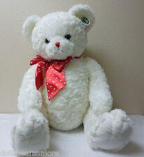 "Bearington Bears 30"" ""LOTS OF LOVEABLE"" Valentine's Day Bear. White. MWT, F/S"