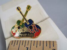 ROCK & ROLL HALL OF FAME MUSEUM DOUBLE GUITARS PIN
