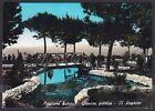 RIETI MAGLIANO SABINA 02 GIARDINI PUBBLICI Cartolina FOTOGRAFICA viaggiata 1965