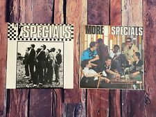 The Specials SELF TITLED & MORE SPECIALS LP Vinyl Record Album LOT OF TWO 1980