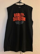 Harley Davidson Tank Top Cancun Mexico Print Men's Size L