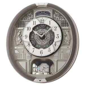 *BRAND NEW* Seiko Musical Motifs Melodies In Motion Wall Clock QXM366SRH