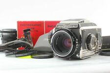 【MINT+++】 Zenza Bronica S2 body w/ Nikkor P 75mm F2.8 Lens and more Japan Y143