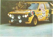 Car FSO Polonez 2000 Rally Car 1986 Color Photo RARE Postcard