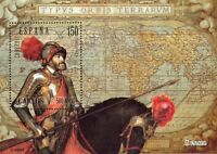 [EF0110] España 2000, HB V Cent. nacimiento Carlos V (MNH)