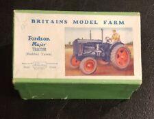 Vintage Britains Model Farm Fordson Major Tractor New in Box Mega Rare Look