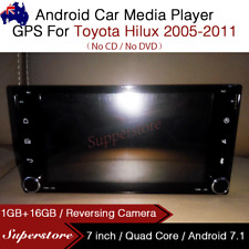 "7"" Quad Core Android 7.1 Car Media Player GPS Head Unit For Toyota Hilux"