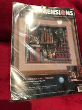 Dimensions Cross Stitch Kit Frederick The Literate new sealed