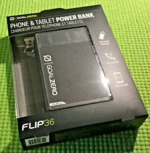 GOAL ZERO Flip 36 USB Power Bank CHARGER Phone & Tablet Charger # 21950