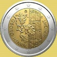 2 EURO COMMEMORATIVE FINLANDE 2016 VON WRIGHT