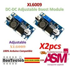 2pcs XL6009 DC-DC Booster module Power supply adjustable Super LM2577 step-up