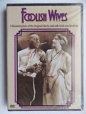 DVD Brand New,Foolish Wives,Erich Von Stroheim,Mae Busch,Rudolph Christians