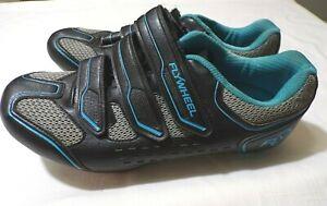 Flywheel Fly Fierce UNISEX 3 Bolt Cycling Shoes Size EU:39 USA 7 WOMENS