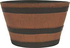 """SOUTHERN PATIO HDR-012221 Wine Barrel Planters (Assorted 10), 20.5"""""""