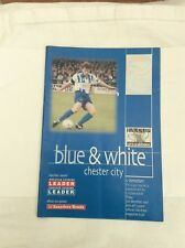 Chester it you  v Wrexham  FA cup round 2  December  1997