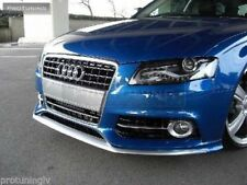 Apron for Standard Audi A4 B8 08-12 Front Bumper spoiler lip Valance Skirt Chin