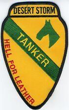 1st Cav Tanker - Operation Desert Storm  BC Patch B134