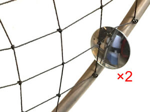 2pk Fuel Level Mirror Gauge Frame Mounted for PPG Paramotor Powered Paraglider