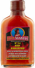 (100ml € 6,49) HotMamas Chilisauce No 14 red Habanero 100ml