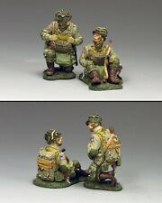 DD266-1 Kneeling & Sitting Paratroopers (82nd Airborne) by King & Country