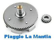 5986 COPPIA TRASMISSIONE CAMPANA E PIGNONE z 22x63 VESPA 125 PRIMAVERA ET3