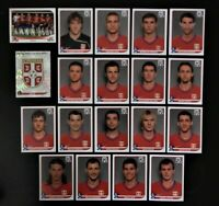 Panini WM 2010 Serbien Serbia Mannschaft Team Complete Set World Cup WC 10
