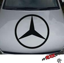 Hochwertiger Mercedes Benz Aufkleber Sticker XXL Logo Ø 60 cm  `+ Bonus Testaufk