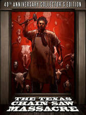 The Texas Chainsaw Massacre Blu-ray/DVD, 2014, 4-Disc Set, 40th Anniversary...