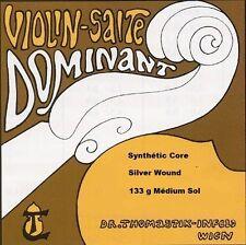 Cordes à l'unité Violon THOMASTIK Violin Salte VIOLON 133 Sol alto 1/2 nylon