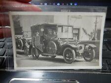 More details for vintage car real photo postcard  superb   dundee registration sr 444