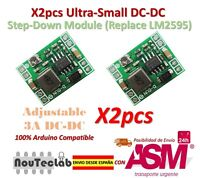2pcs Ultra-Small DC-DC Step Down Power 3A MP1584 Adjustable Replace LM2596