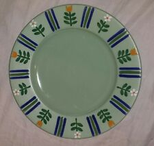 "Studio Nova ~ Flora Green ~ 12"" dinner Plate jk303"