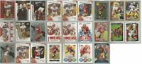 San Francisco 49ers 25 card 2010 insert lot-all different